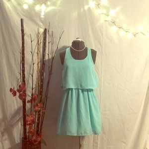 RUE 21 Turquoise Fit N Flare Dress! NWOT!